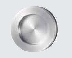 CIRCLE Húzókagyló üvegajtóhoz, felragasztható
