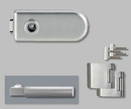 CLASSICO üvegajtó garnitúra, METRICO PROF. Kilinccsel