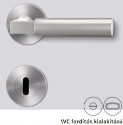 METRICO PROFESSIONAL Rozettás kilincsgarnitúra WC, inox
