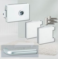 ARCO üvegajtó garnitúra BASIC 03 kilinccsel