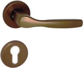 CHRISTIE Rozettás kilincsgarnitúra PZ, bronz színű