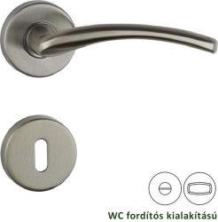 COOL Rozettás kilincsgarnitúra WC, szatén nikkel