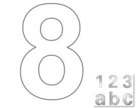"""Házszám """"8"""""""