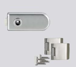 CLASSICO üvegajtó garnitúra kilincs nélkül OL, inox