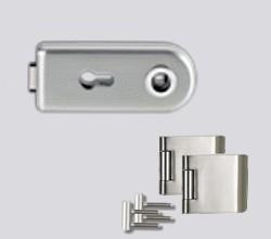 CLASSICO üvegajtó garnitúra kilincs nélkül PZ, inox