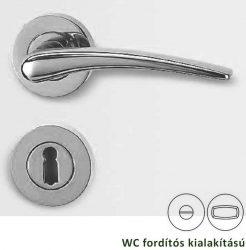MARISA Rozettás kilincsgarnitúra WC, matt nikkel