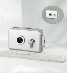 ARCO Üvegajtó zár WC, alu szatén