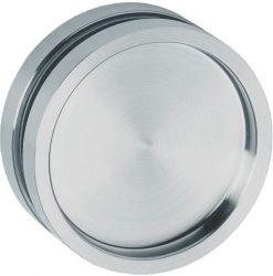 6403 Tolóajtó húzókagyló üvegajtóhoz kerek, zárt